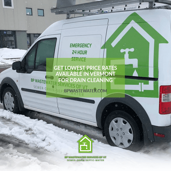 Need Drains Cleaning Vermont?
